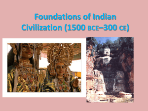 Ch 6a Foundations of Indian Civ - Somerset Academy Silver Palms