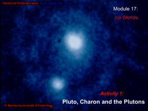 Pluto, Charon & the Plutons