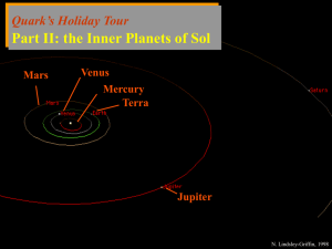 Quark Presents: Holiday Tour of the Star System Sol