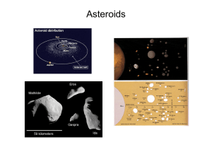 13.Asteroids - University of New Mexico