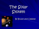 The Solar System - Pi Beta Phi Elementary School