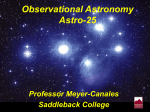 Observational Astronomy Astro-25
