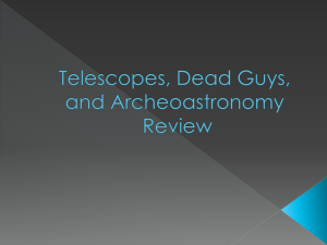 Telescopes & Dead Guys Review Game