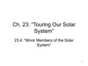 "Ch. 23: ""Touring Our Solar System"""