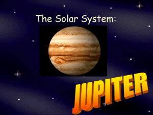 The Solar System: JUPITER by - Etiwanda E