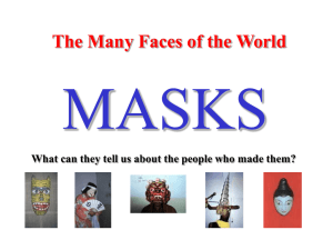 Powerpoint for masks