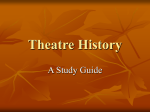 Theatre History - Johnson County Schools