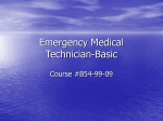 Emergency Medical Technician-Basic