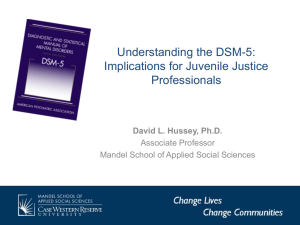 Understanding The DSM-5 Implications for Juvenile