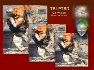 Traumatic Brain Injury Evaluation and Management of Soldiers