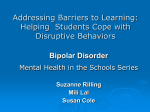 Addressing Barriers to Learning: Helping Students Cope