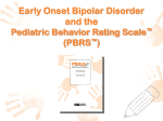 PEDIATRIC BEHAVIOR RATING SCALE
