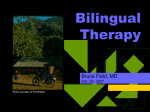 Bilingual Patients - World Mental Health Day