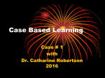 Case Based Learning