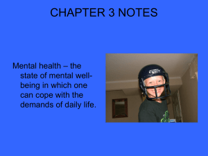 Chapter 3 Notes/powerpoint