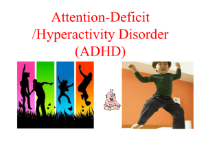 Hyperactivity Disorder (ADHD) (Click to download)