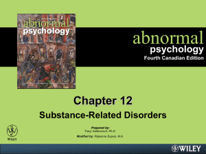 abnormal PSYCHOLOGY Third Canadian Edition
