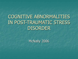 Progress and Controversy in the Study of Posttraumatic Stress