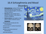 melatonin Mood disorders