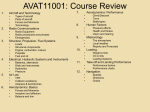 AVAT13005 Instrument Flight Theory