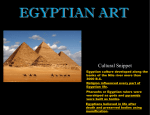 Characteristics of Ancient Egyptian Art