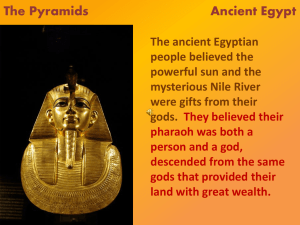 The Gift of the Nile Ancient Egypt