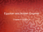 Egyptian and Nubian Empires - MrPawlowskisWorldHistoryClass