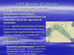CST Review 6th Grade - Portola Middle School