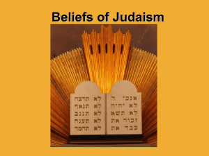 Beliefs of Judaism