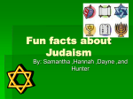 Fun facts about Judaism