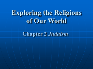 Exploring the Religions of Our World Chapter 2