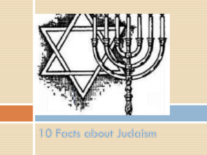 10 Facts about Judaism