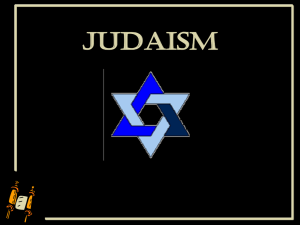 judaism - Granbury ISD