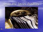 Sects and Sacred Practices