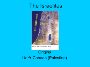 Ancient Israel PPT Notes