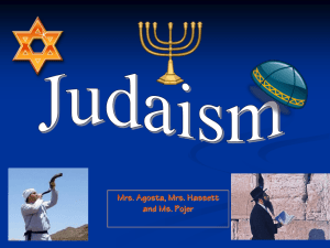 Judaism Power Point