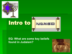 Judaism - bYTEBoss