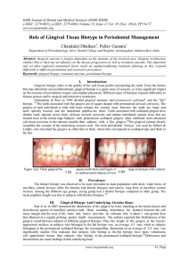 IOSR Journal of Dental and Medical Sciences (IOSR-JDMS)