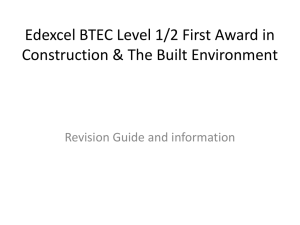 Construction Revision Materials Unit 1
