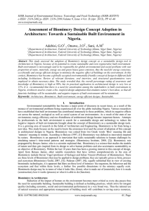 IOSR Journal of Environmental Science, Toxicology and Food Technology (IOSR-JESTFT)