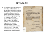 Broadsides - 4J Blog Server