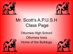 APUSH DBQ Essays - Ottumwa Community Schools