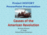 Project HISTORY PowerPoint Presentation