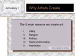 Why People Create Art