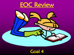 Goal 4 review PPt