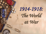 Diplomacy & The Great War
