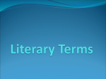 Literary Elements and Terms