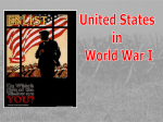US Enters War - IB-History-of-the