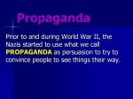 Propaganda Notes PowerPoint
