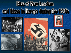 Rise of New Leaders & Ideas PPT
